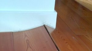 warped floorboards from water damage